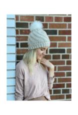 Tranquility Pom Pom Hat Cream by Canada Bliss