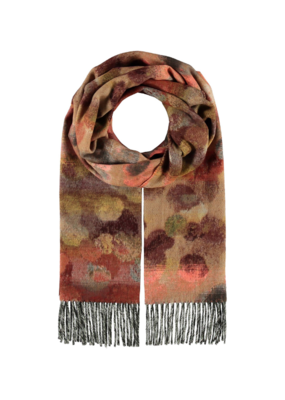 Water Colour Dottie Scarf Camel by Fraas