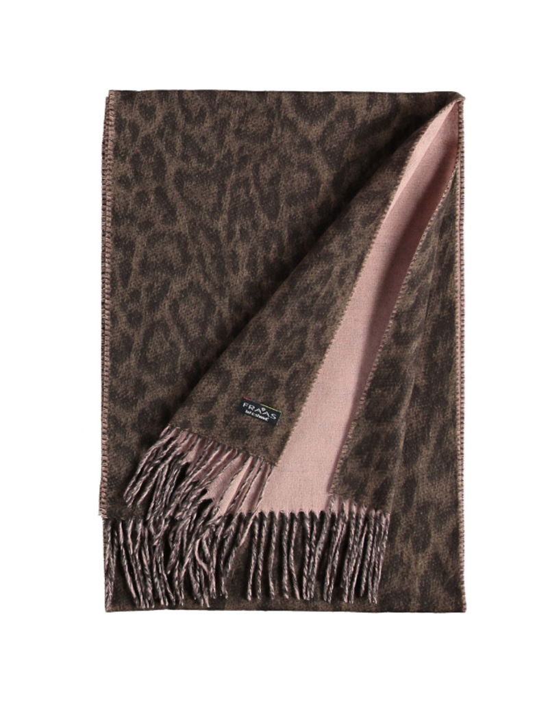 Two Tone Leo Cashmink Scarf Camel by Fraas