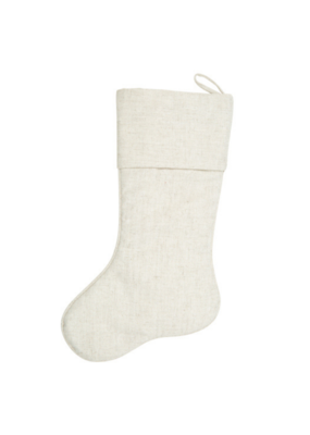 Natural Linen Stocking
