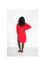 riot theory Elliot Nightie in Red by Riot Theory
