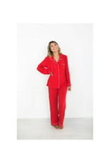 riot theory Lauren PJs in Red by Riot Theory