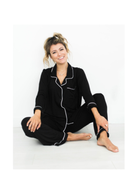riot theory Lauren PJs in Black by Riot Theory