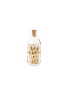 Skeem Skeem Poetry Apothecary Match Bottle Small