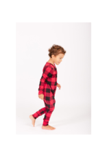 Smash + Tess PRE-ORDER! Present Youth Romper in Poinsetta Red by Smash + Tess