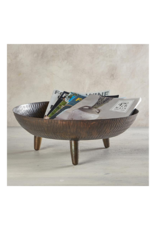 creative brands Footed Bowl