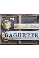 creative brands Drawstring Baguette Bag