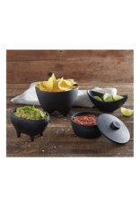 creative brands Cast Iron Small Footed Bowl