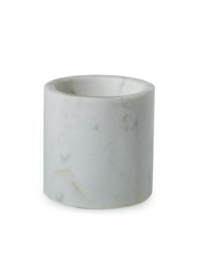 "Hofland Marble Pot White XS 4"" x 4"""
