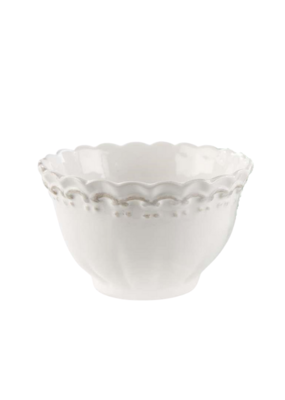 Antique Lace Bowl in White