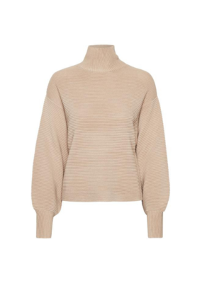 InWear Ann Sweater in Powder Beige by InWear