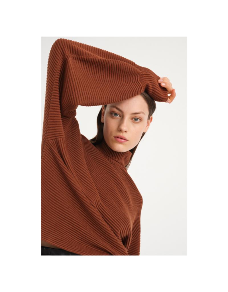 InWear Ann Sweater in Spicy Brown by InWear