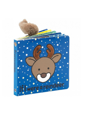 Jellycat If I Were a Reindeer Jellycat Book