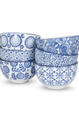 Blue and White Assorted Deep Bowl