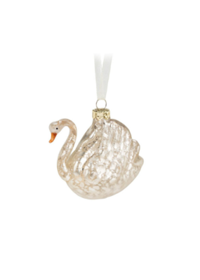 White Swan Ornament