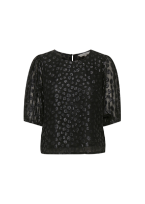 Part Two Fahrin Blouse in Black by Part Two