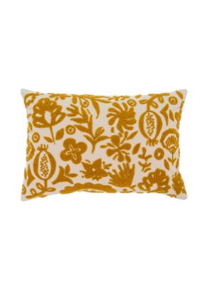 New Guinea Pillow in Ochre 16x24