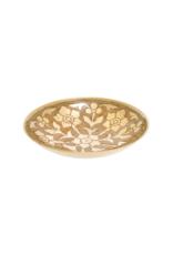 Medium Primrose Brass Decor Bowl