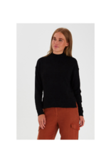 b.young Nonina Turtleneck in Black by b.young