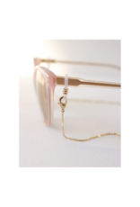 Lover's Tempo Glasses & Mask Chain in Everly Gold by Lover's Tempo