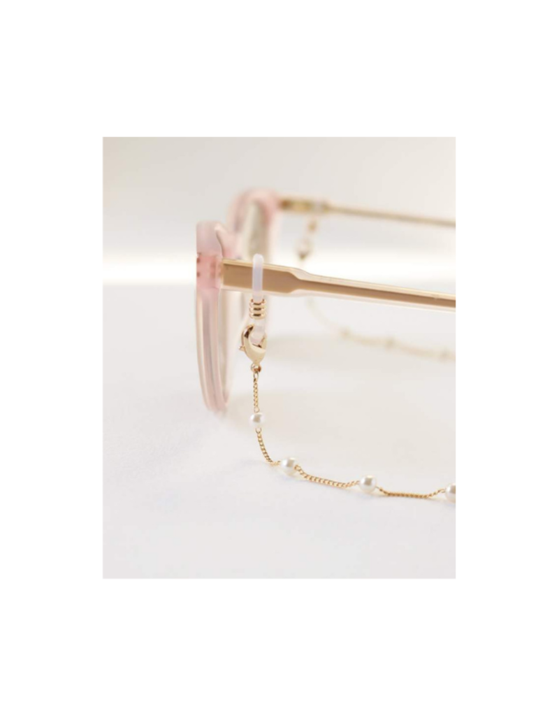 Lover's Tempo Glasses & Mask Chain in Dot Pearl by Lover's Tempo