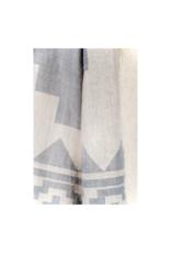 Fleece Lined Throw in Atzi Light Gray