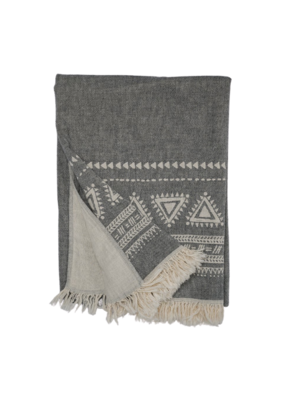 Pokoloko Turkish Towel & Throw Devon Black
