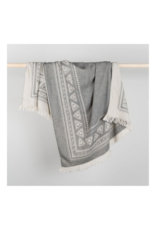 Turkish Towel & Throw Devon Black