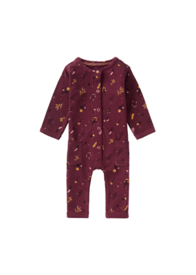 noppies Noppies Burgundy Salinas Playsuit
