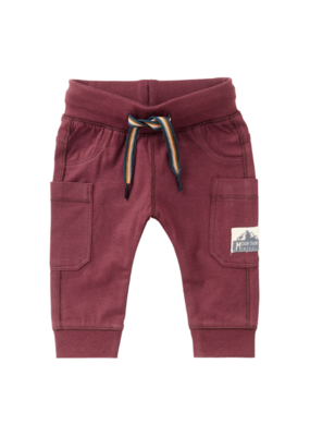 noppies Noppies Dusty Red Venterstad Slim Fit Pants