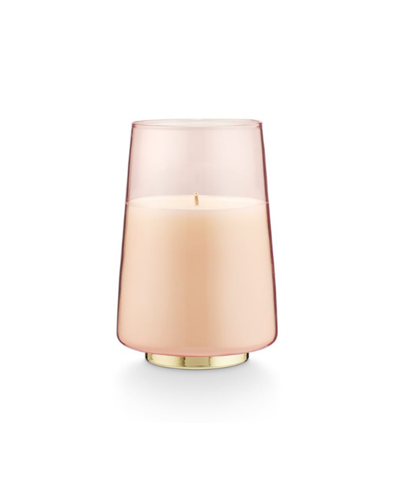 Illume Pink Pine Winsome Glass Candle