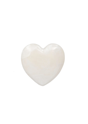 Alabaster Stone Heart Large