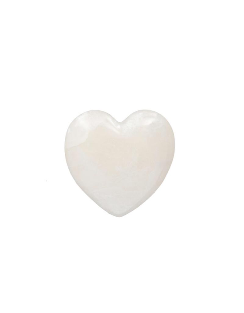 Alabaster Stone Heart Large