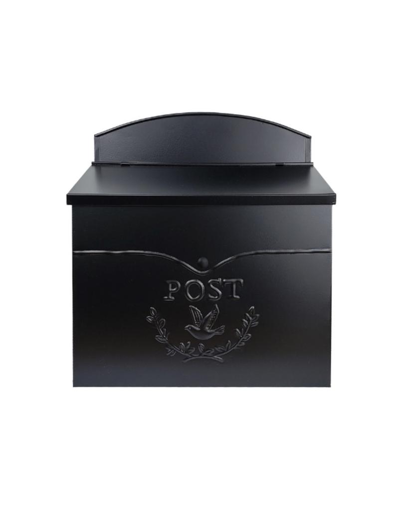 Chelsea Post Mailbox Black