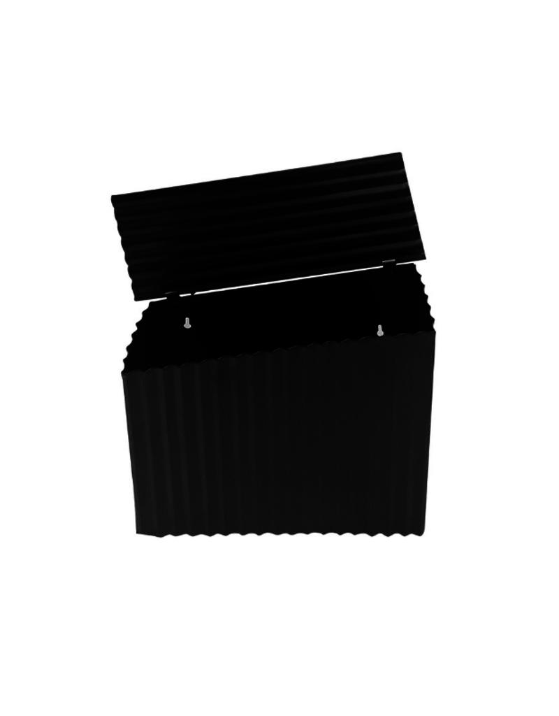 Farm Style Mailbox Black