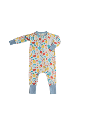 LouLou Lollipop Loulou Lollipop Sleeper in Cutie Fruits