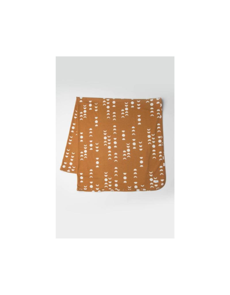 LouLou Lollipop LouLou Lollipop Stretch Knit Tencel Blanket in Moon