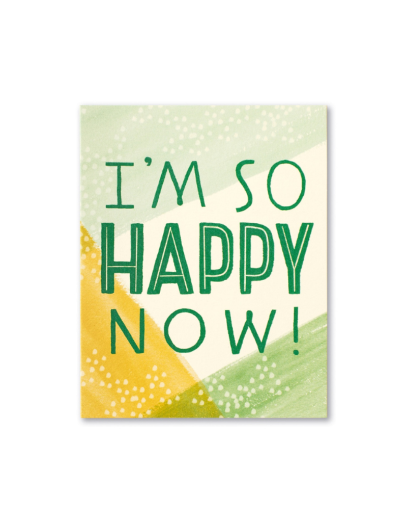 I'm So Happy Thank You Card