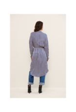 Part Two Gro Shirt Dress in Deep Ultra Stripe by Part Two