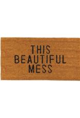creative brands Beautiful Mess Coir Doormat