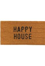 creative brands Happy House Coir Doormat