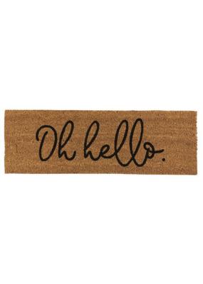creative brands Oh Hello Coir Doormat