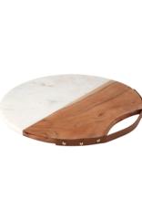 creative brands Acacia Wood & Marble Board