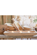 creative brands Paulownia Wood Bowl Medium