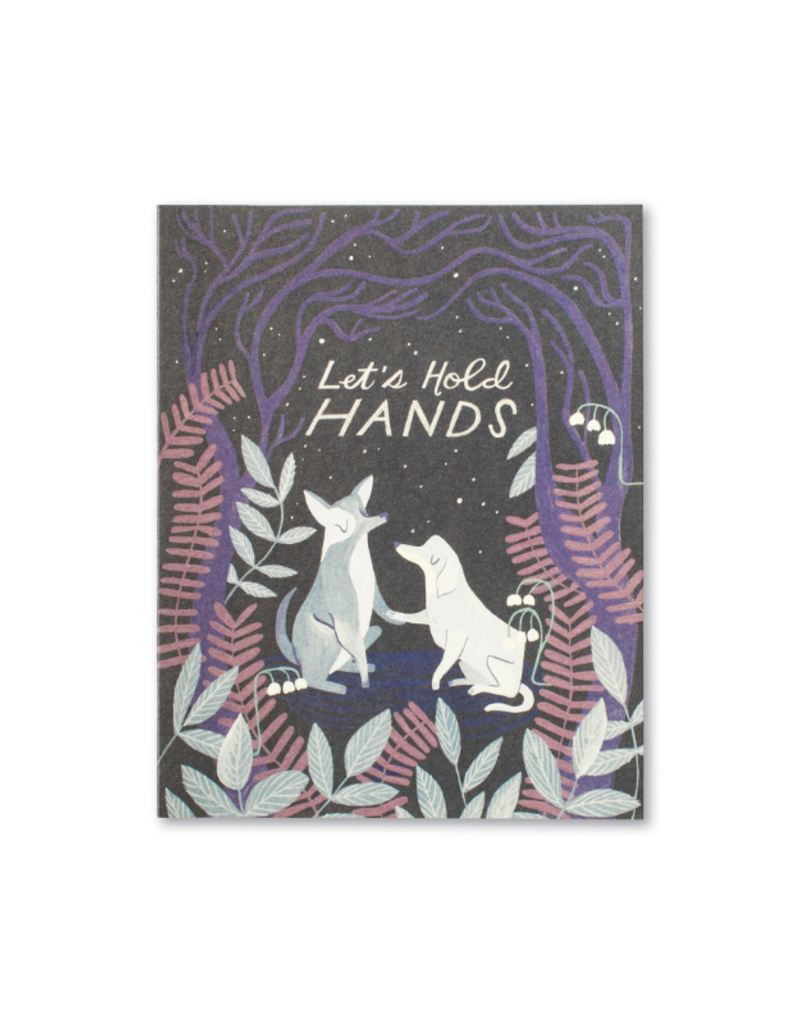 Let's Hold Hands Card
