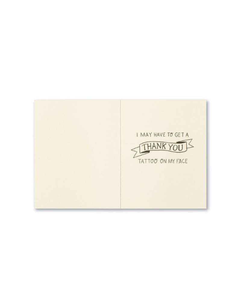 If You Do One More Nice Thing For Me Card