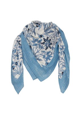 Part Two Adia Scarf Light Blue Wallpaper Print by Part Two