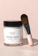 midnight paloma Midnight Paloma Charcoal & Rose Detox Mask