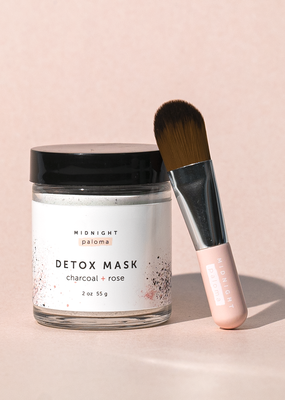 midnight paloma Midnight Paloma Charcoal & Rose Detox Mask