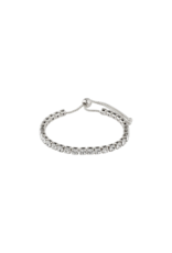 PILGRIM Lucia Crystal Silver-Plated Bracelet by Pilgrim